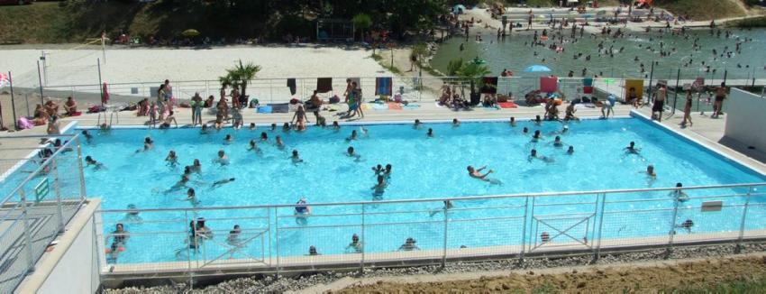 base de loisirs ouverte en juin